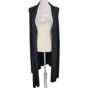 Eileen Fisher Gray Cardigan Large